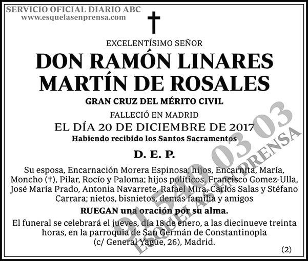 Ramón Linares Martín de Rosales